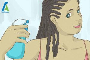 3 مراقبت از مدل موی بافت آفریقایی
