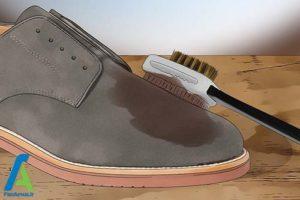 3 رنگ کردن کفش چرم جیر