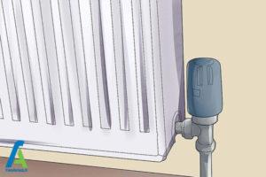 3 باز کردن موقتی رادیاتور