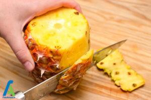 2 اصول خشک کردن آناناس