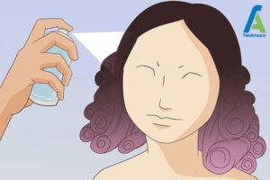 3 فر کردن موهای مصنوعی