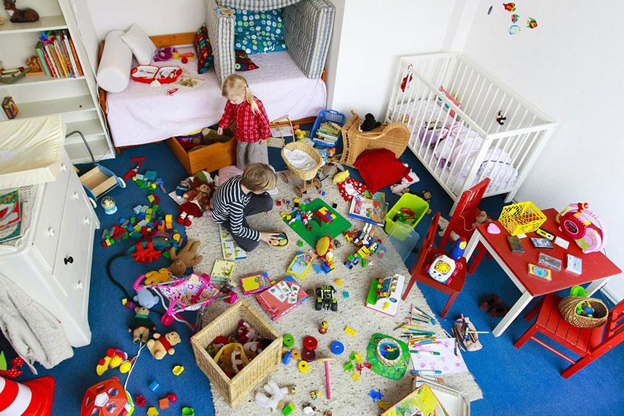 3 آموزش نظم به کودک و مرتب کردن اتاق