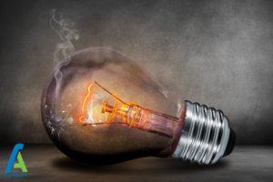 3 علت سوختن لامپ ها