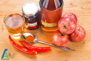 2 درمان گلو درد با سرکه سیب