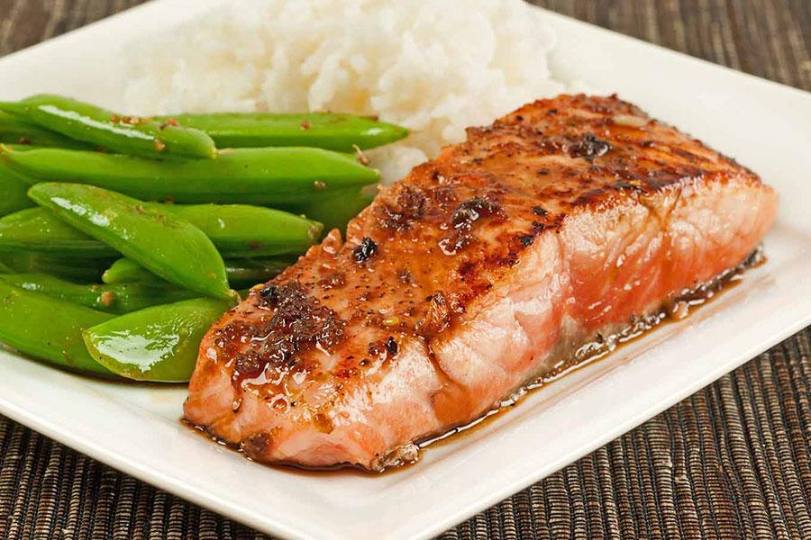 3 اصول پخت ماهی سالمون