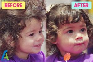 3 اصلاح اصولی موی کودکان