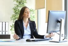 Photo of مدیتیشن در محل کار برای رسیدن به آرامش و کاهش استرس