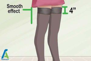3 راهنمای انتخاب و خرید جوراب ساق بلند