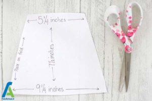 2 بلند کردن آستین کوتاه لباس