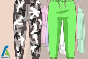 3 ست شلوار اسلش با انواع کفش و لباس
