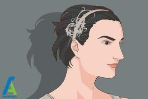 3 اصول استفاده از هدبند برای موهای کوتاه