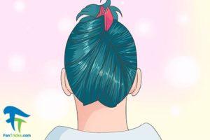3 پاک کردن رنگ موی فانتزی بدون دکلره