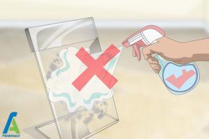3 اصول پاک کردن سطح پلی متیل متاکریلات