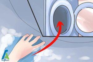 2 از بین بردن لکه جوهر داخل لباسشویی