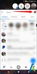 4 غیرفعال کردن Chat Heads مسنجر فیسبوک اندروید