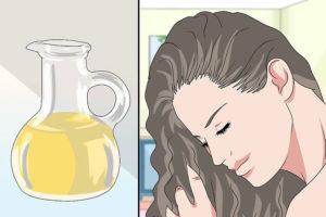 3 تقویت موهای فر با روغن