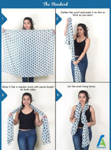 3 آموزش بستن دستمال گردنی