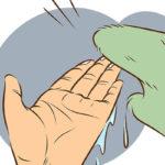 4 پاک کردن چسب سیلیکونی از روی دست