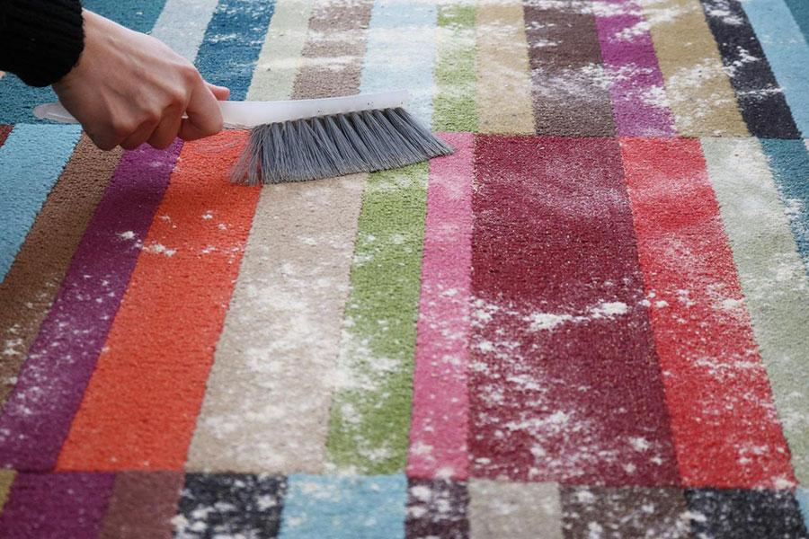 3 رفع لکه روی فرش با شوینده ارگانیک