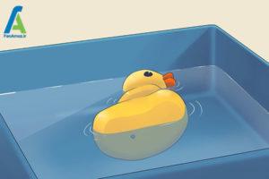 2 اسباب بازی حمام کودکان