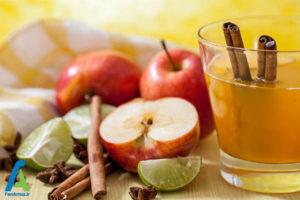 3 درمان گلو درد با سرکه سیب