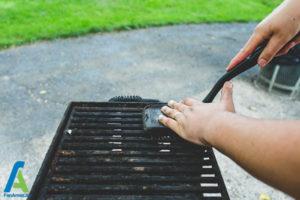 4 نحوه تمیز کردن باربیکیو