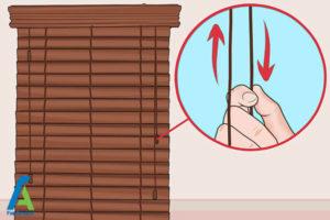 3 تمیز کردن پرده کرکره چوبی