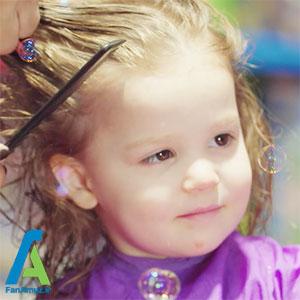 4 اصلاح اصولی موی کودکان