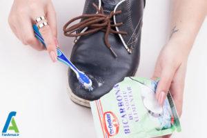 4 رفع لکه خراشیدگی روی کفش