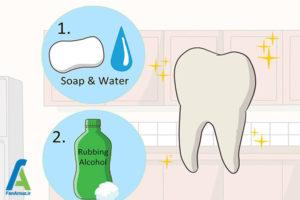 2 نگهداری از دندان کشیده شده