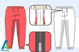 4 ست شلوار اسلش با انواع کفش و لباس