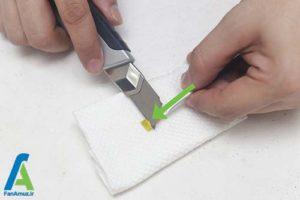 4 برطرف کردن خشکی قلمو رنگ