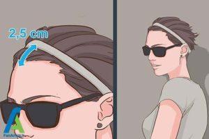 4 اصول استفاده از هدبند برای موهای کوتاه