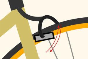 4 تنظیم ترمز دوچرخه