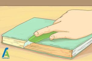 5 مراحل صحافی کتاب