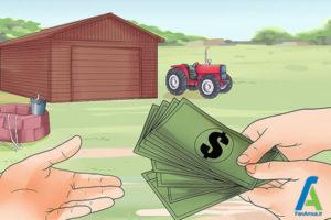 1 احداث مزرعه پرورش گاو