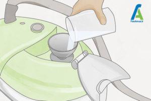 3 نحوه تمیز کردن بخارشوی
