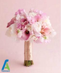 5 گلهای مناسب دسته گل صورتی
