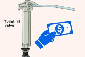 5 نحوه تعویض و تعمیر فلش تانک و سیفون توالت