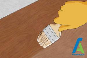 2 رفع لکه و مراقبت از وسایل چوبی