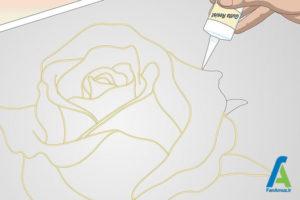 3 نقاشی روسری ابریشمی