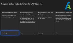 4 لغو نمایش وضعیت آنلاینی Xbox1