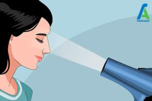 4 تمیز کردن اکستنشن مژه مصنوعی