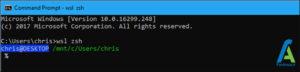 5 شل Zsh لینوکس در ویندوز 10