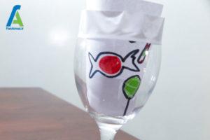 3 طراحی و تزئین جام شیشه ای