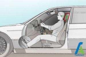 5 تنظیم صحیح صندلی ماشین