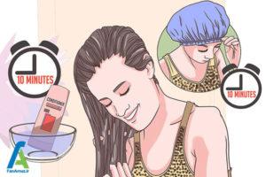 5 فر کردن موهای مصنوعی