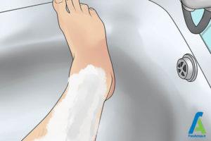 3 شیو کردن پا در مردان