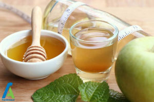4 درمان گلو درد با سرکه سیب