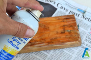 4 طراحی روی چوب با اکلیل